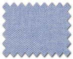 100% Cotton Blue Pin Point
