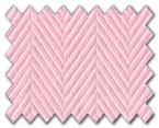 100% Cotton Pink Herringbone