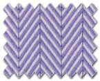 100% Cotton Purple Herringbone