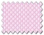 100% Cotton Pink Diamond
