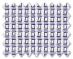 100% Cotton Purple Dobby