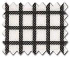 100% Cotton Black Check