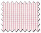 100% Cotton Pink Check