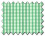 100% Cotton Green Check