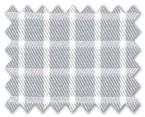 100% Cotton Grey Check