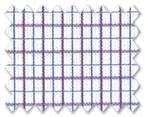 100% Cotton Purple/Blue Check