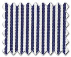 100% Cotton Navy Stripe