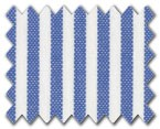 100% Cotton Blue Stripe