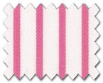 100% Cotton Pink Stripe