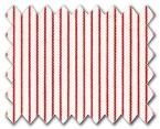 100% Cotton Red Stripe