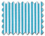 100% Cotton Aqua Stripe