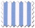 100% Cotton Light Blue Stripe