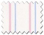 100% Cotton Pink/Light Blue Stripe