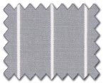 100% Cotton Grey Stripe
