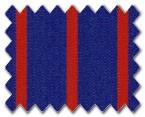100% Cotton Dark Blue/Red Stripe