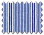 100% Cotton Blue/Dark Blue Stripe