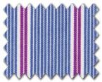 100% Cotton Blue/Pink Stripe