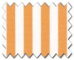 100% Cotton Orange Stripe