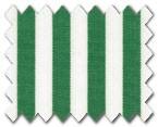 100% Cotton Green Stripe