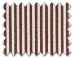 100% Cotton Brown Stripe