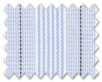 100% Cotton Light Blue/Black Stripe