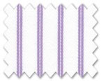 100% Cotton Purple Stripe