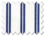 100% Cotton Dark Blue Stripe
