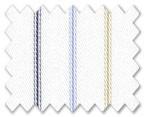 100% Cotton Light Blue/Beige/Dark Blue Stripe