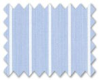 100% Cotton Light Blue Stripe