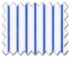160's Superfine Cotton Dark Blue Stripe