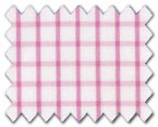 160's Superfine Cotton Pink Check