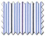160's Superfine Cotton Blue/Purple/Navy Stripe