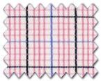 160's Superfine Cotton Pink/Blue/Navy Check