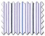 160's Superfine Cotton Purple/Blue/Navy Stripe