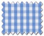160's Cotton Light Blue Check