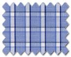 160's Superfine Cotton Blue Check