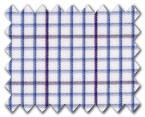 160's Superfine Cotton Purple/Blue Check