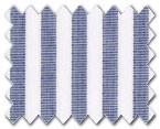 160's Superfine Cotton Navy Stripe