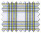 Wrinkle Free Cotton Yellow/Green Check