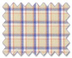 Wrinkle Free Cotton Beige Check