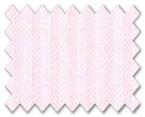 Wrinkle Free Cotton Pink Herringbone