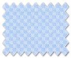 Wrinkle Free Cotton Light Blue Diamond