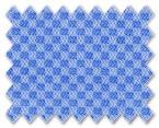 Wrinkle Free Cotton Dark Blue Diamond