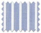 Wrinkle Free Cotton Dark Blue Stripe