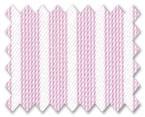 Wrinkle Free Cotton Pink Stripe