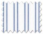 Wrinkle Free Cotton Blue Stripe