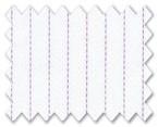 Wrinkle Free Cotton Purple Stripe