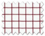 Wrinkle Free Cotton Red Check