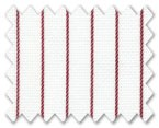 Wrinkle Free Cotton Red Stripe