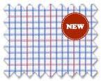 Wrinkle Free Cotton Blue/Pink Check